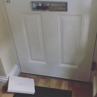 letterbox arrival